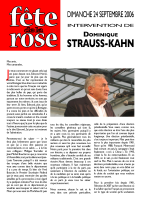 Discours de Dominique STRAUSS-KAHN