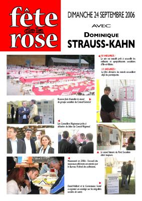Journal de la Fête de la Rose 2003