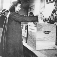 Le droit de vote des femmes
