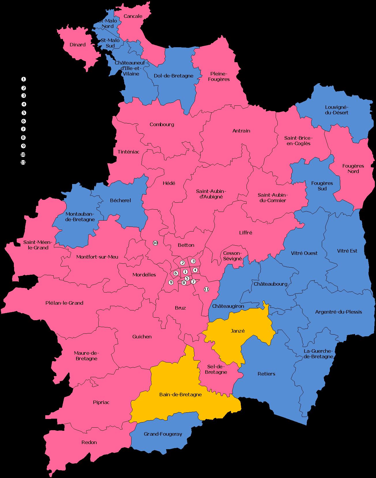 Carte des cantons 2011-2014