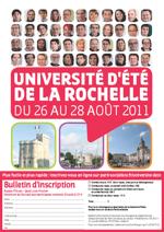 Université d'été de La Rochelle
