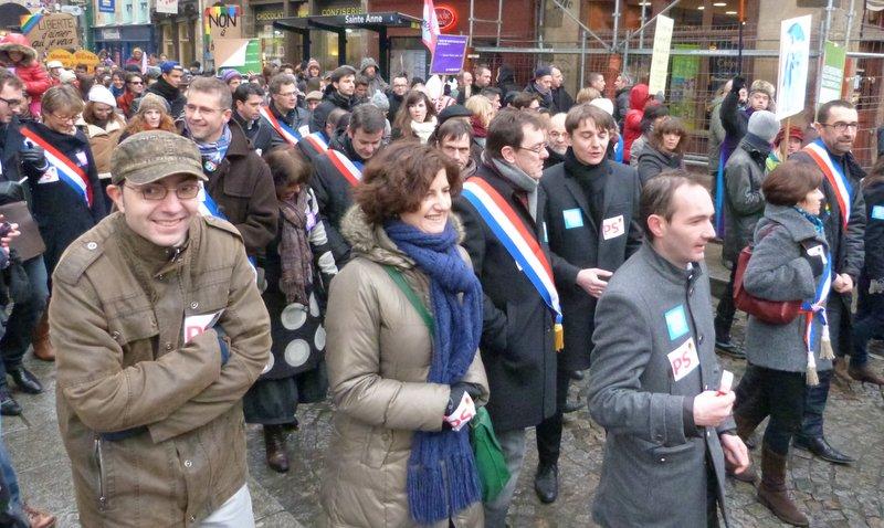 Manifestation 19 janvier 2013 - Egalité